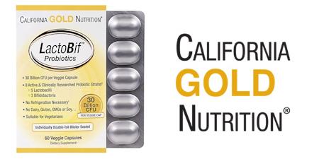 Пробиотики LactoBif от California Gold Nutrition