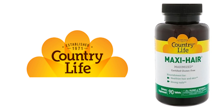 Средство для роста волос Maxi-Hair от Country Life